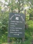 Downhouse Farm sign